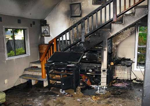 fire damage inspection