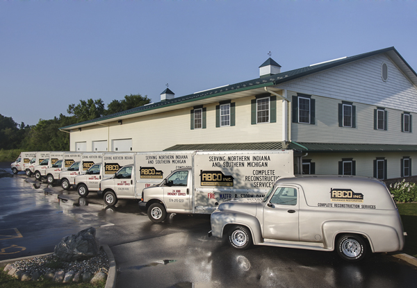 trucks for Restoration Services in Michiana